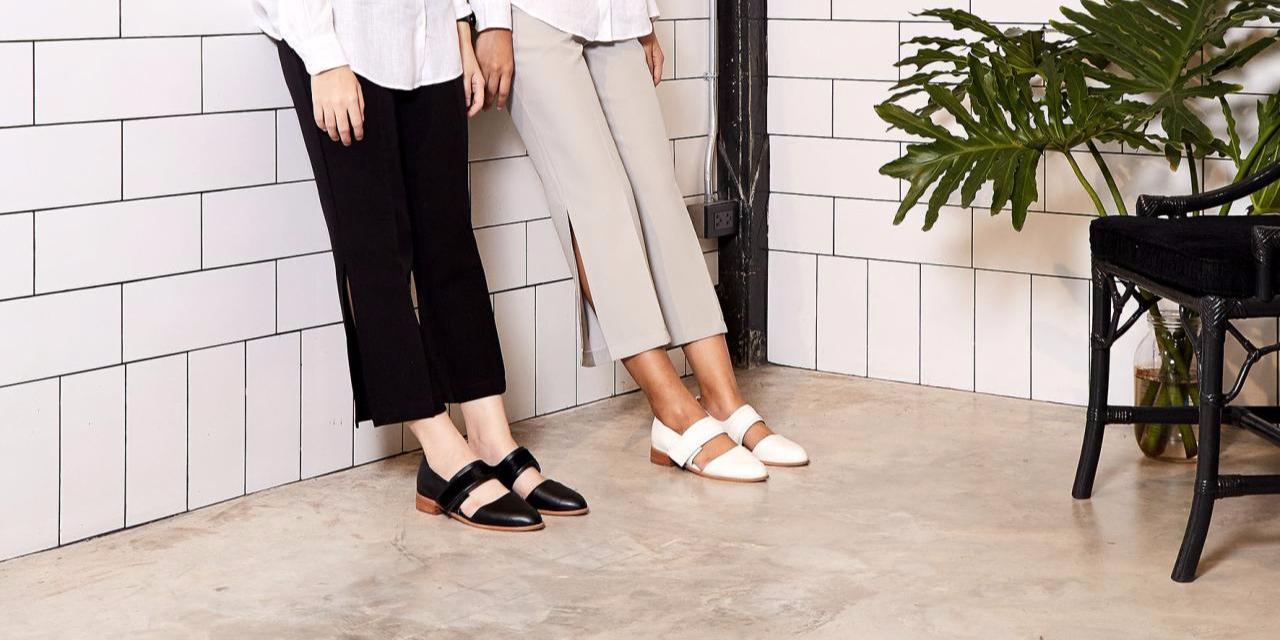 【夏日鞋装】来自泰国的简约设计