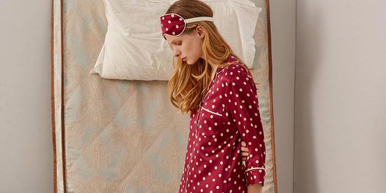 睡衣也要换季   秋日里的睡公主
